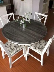 21 Vintage DIY Dining Table Design Ideas 26