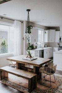 21 Vintage DIY Dining Table Design Ideas 27