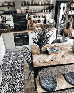 21 Vintage DIY Dining Table Design Ideas 29
