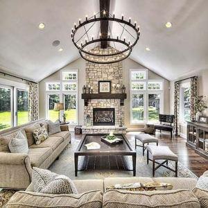 21 Warm And Cozy Farmhouse Style Living Room Decor Ideas 14