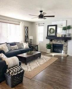 21 Warm And Cozy Farmhouse Style Living Room Decor Ideas 27