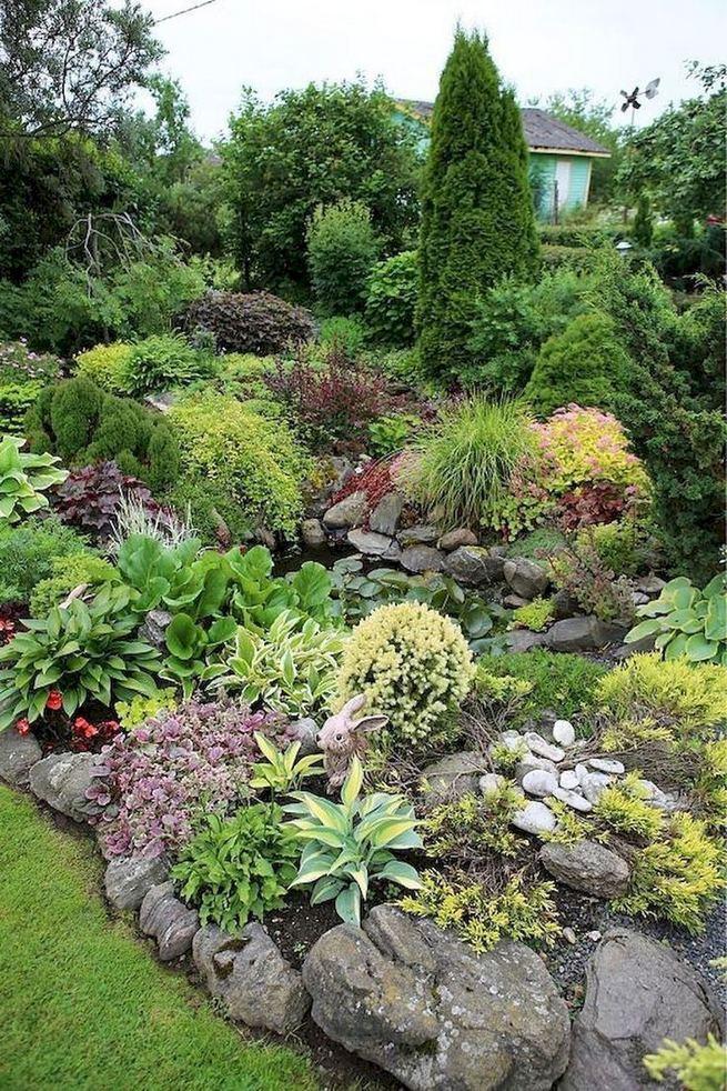 12 Best Ideas For Front Yard Rock Garden 01