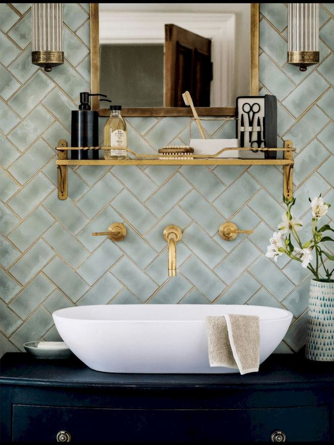 12 Best Inspire Bathroom Tile Pattern Ideas 14