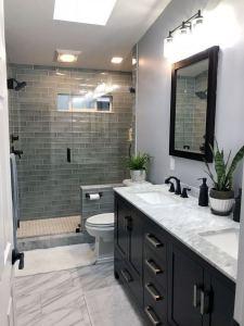 12 Best Inspire Bathroom Tile Pattern Ideas 16