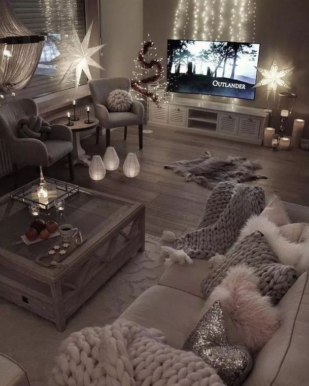 13 Cozy Farmhouse Living Room Decor Ideas 03
