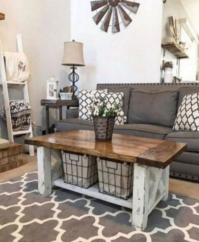 13 Cozy Farmhouse Living Room Decor Ideas 23