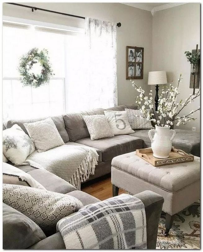 13 Cozy Farmhouse Living Room Decor Ideas 28