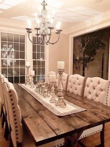 14 Incredible Rustic Dining Room Table Decor Ideas 16