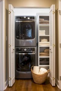 16 Brilliant Small Functional Laundry Room Decoration Ideas 01
