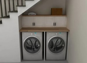 16 Brilliant Small Functional Laundry Room Decoration Ideas 29