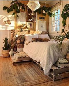 19 Creative DIY Bohemian Bedroom Decor Ideas 01