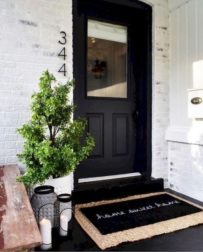 21 Stunning Farmhouse Front Porch Decor Ideas 14