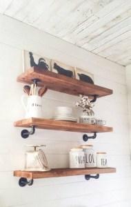 15 Models Bathroom Shelf With Industrial Farmhouse Towel Bar 19