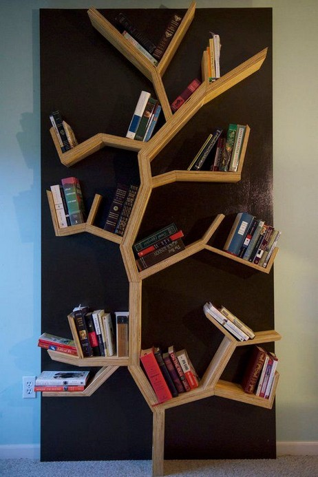 15 Unique Bookshelf Ideas For Book Lovers 06