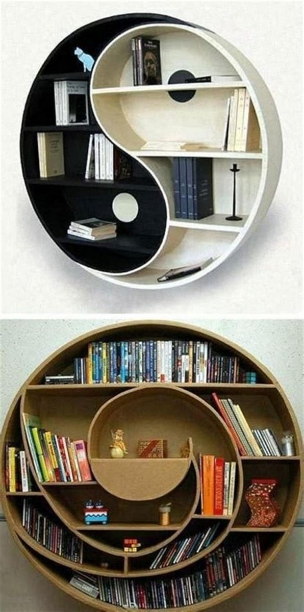 15 Unique Bookshelf Ideas For Book Lovers 14