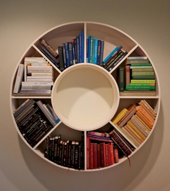 15 Unique Bookshelf Ideas For Book Lovers 15