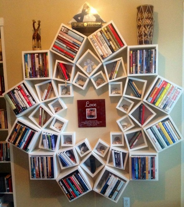 15 Unique Bookshelf Ideas For Book Lovers 17