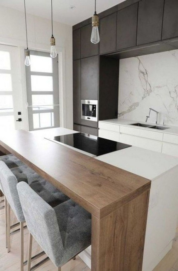 16 Amazing Modern Kitchen Cabinets Design Ideas 12