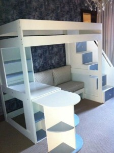 16 Best Choices Of Kids Bunk Bed Design Ideas 01