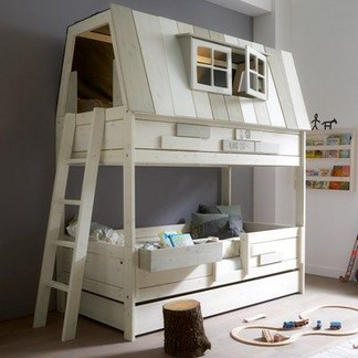 16 Best Choices Of Kids Bunk Bed Design Ideas 07