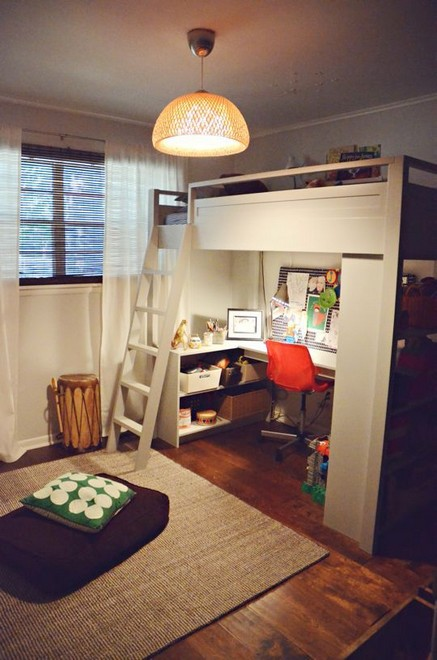 16 Bunk Beds Design Ideas With Desk Areas Help To Make Compact Bedrooms Bigger 14
