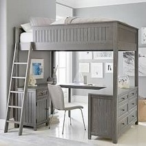 16 Bunk Beds Design Ideas With Desk Areas Help To Make Compact Bedrooms Bigger 15