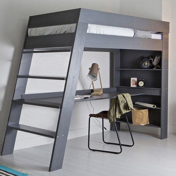 16 Bunk Beds Design Ideas With Desk Areas Help To Make Compact Bedrooms Bigger 18