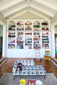 16 Fantastic Floor To Ceiling Bookshelves With Ladder 16