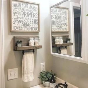 16 Models Bathroom Shelf With Industrial Farmhouse Towel Bar – Tips For Buying It 12