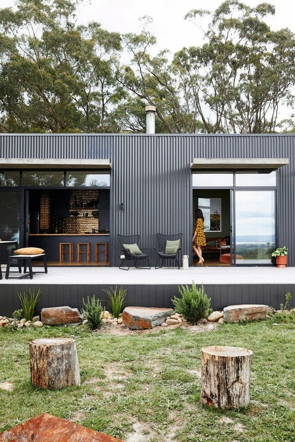 16 Modern Shed Design Looks Luxury To Complement Your Home 14