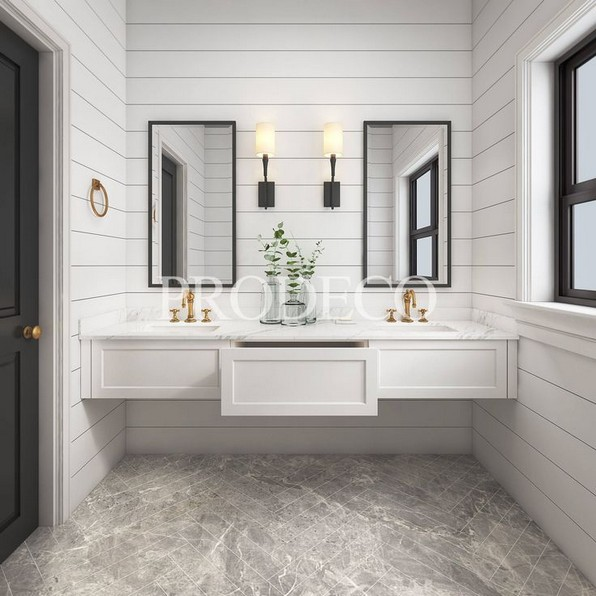 17 Best Of Modern Farmhouse Bathroom Vanity Decoration Ideas 08