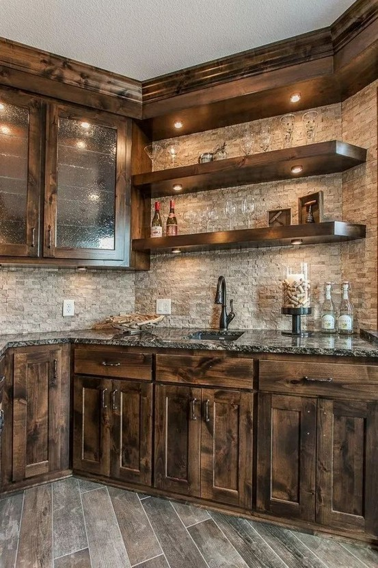 17 Best Rustic Kitchen Design You Have To See It 12
