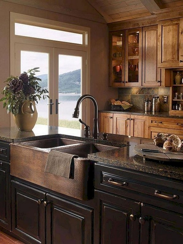 17 Best Rustic Kitchen Design You Have To See It 19