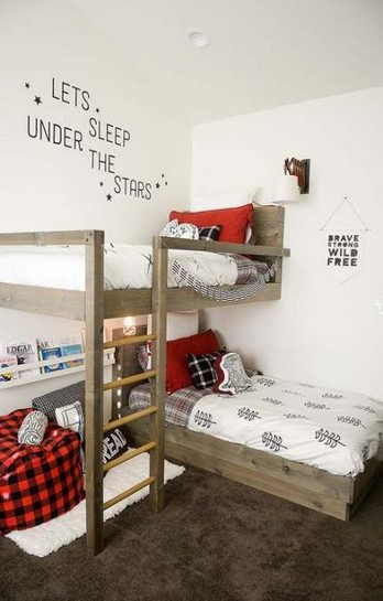 17 Boys Bunk Bed Room Ideas 17