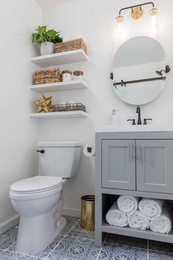 17 Models Sample Awesome Small Bathroom Ideas 19