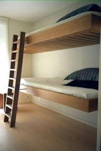 17 Most Popular Floating Bunk Beds Design 01
