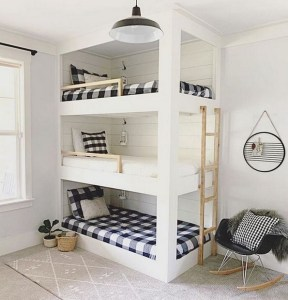 17 Top Picks For A Triple Bunk Bed For Kids Rooms 12