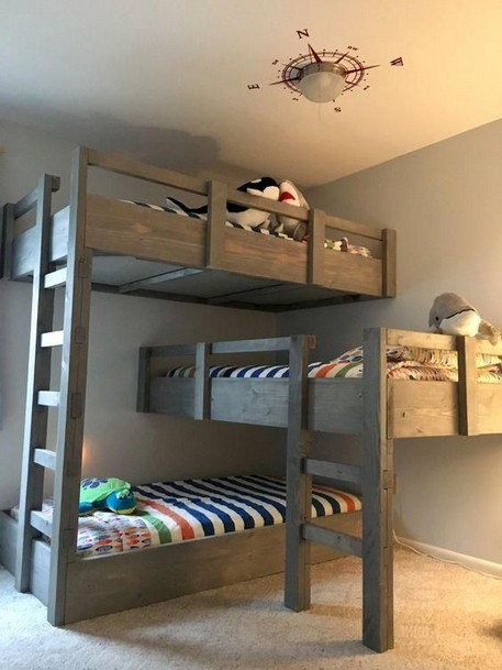 17 Top Picks For A Triple Bunk Bed For Kids Rooms 13