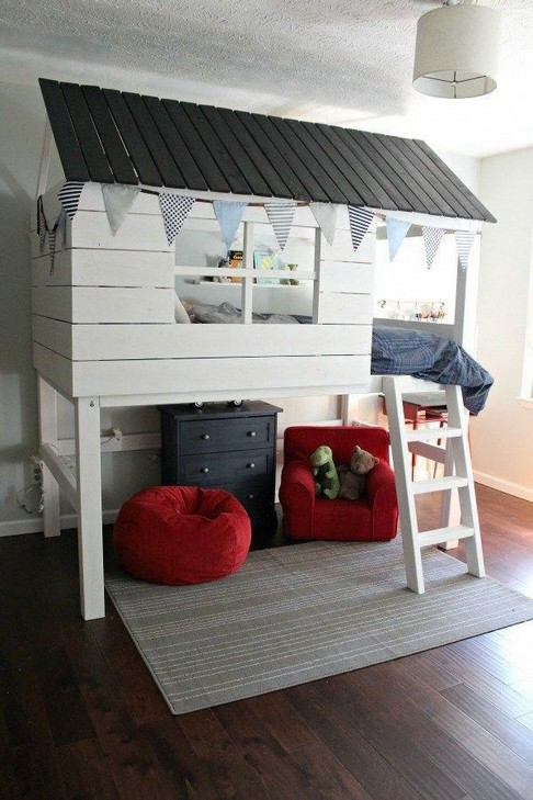 18 Boys Bunk Bed Room Ideas – 4 Important Factors In Choosing A Bunk Bed 12