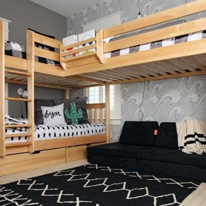 18 Boys Bunk Bed Room Ideas – 4 Important Factors In Choosing A Bunk Bed 14