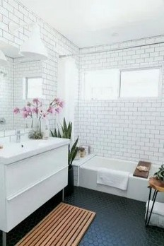 18 Comfy Bathroom Floor Design Ideas 20