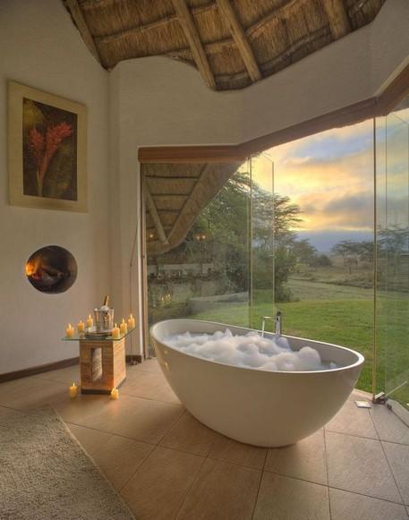 18 Comfy Bathroom Floor Design Ideas 25