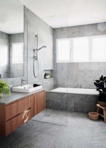 18 Comfy Bathroom Floor Design Ideas 26