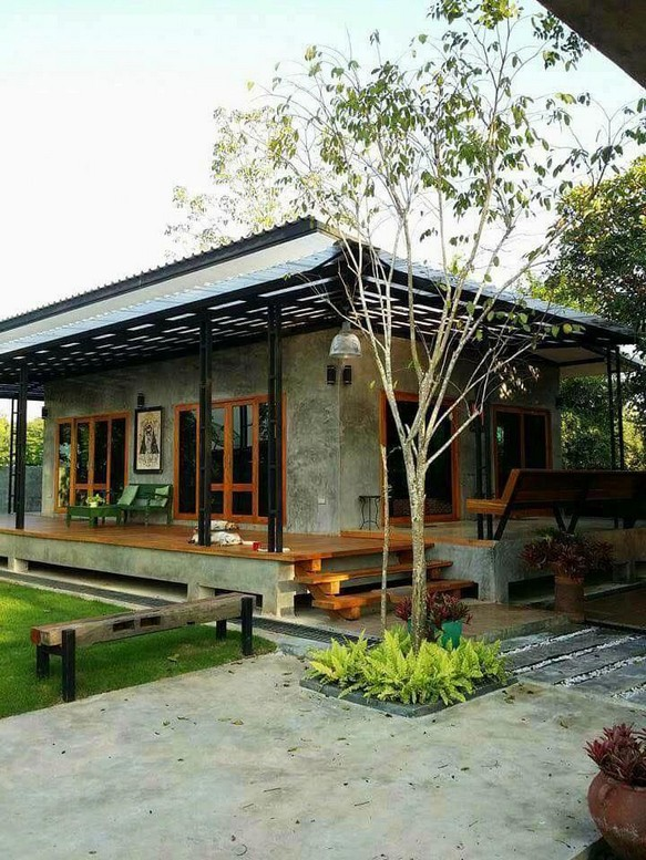 18 Examples Of Amazing Contemporary Flat Roof Design Of A House 13