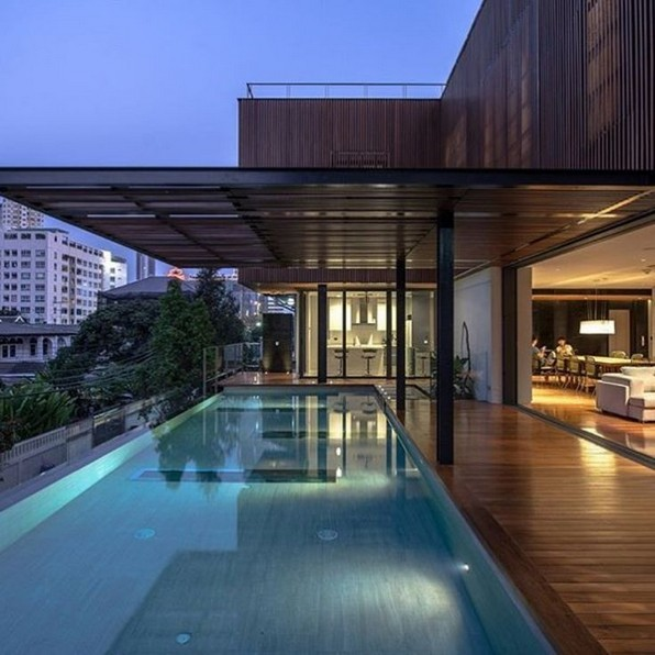 18 Examples Of Amazing Contemporary Flat Roof Design Of A House 14