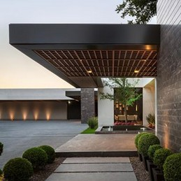 18 Examples Of Amazing Contemporary Flat Roof Design Of A House 18