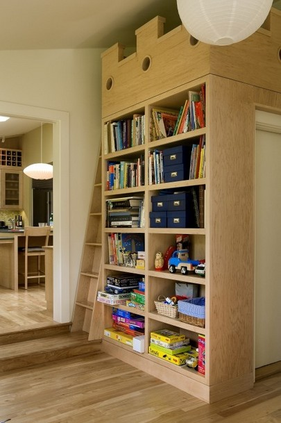 18 Fantastic Floor To Ceiling Bookshelves With Ladder 01