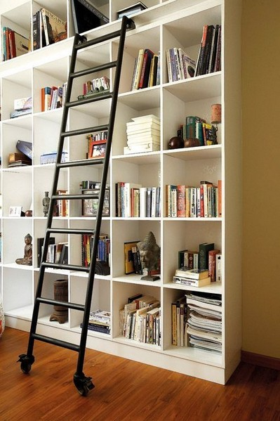 18 Fantastic Floor To Ceiling Bookshelves With Ladder 20