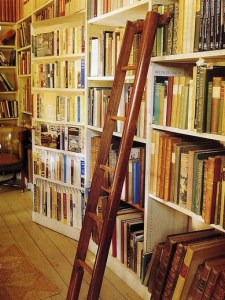 18 Fantastic Floor To Ceiling Bookshelves With Ladder 24