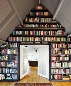 18 Fantastic Floor To Ceiling Bookshelves With Ladder 28